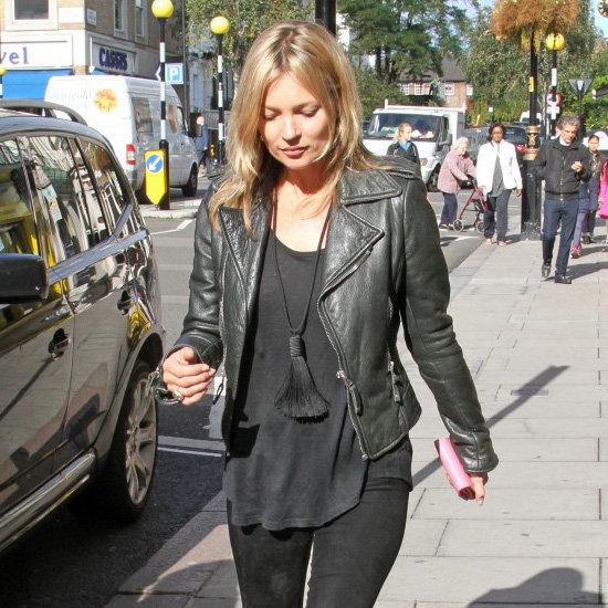 Kate Moss Wearing Tassel Necklace