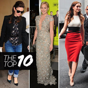 Top Ten Best Dressed Celebrities of the Week: Rachel Bilson, Abbie Cornish, Leighton Meester, Poppy Delevingne