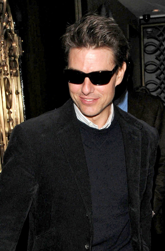 Tom Cruise Dines Out While Rumors Swirl About a Future Project With Rupert Sanders