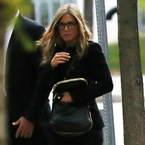 An Engaged Jennifer Aniston Steps Out in Boston   Pictures