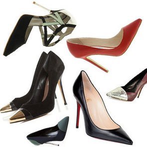 The Essential Wardrobe: Shop Our Top Ten Pointy-Toed Heels Online from Manolo Blahnik, Christian Louboutin & more