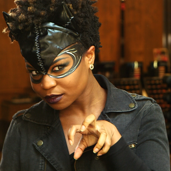 Catwoman Costume Makeup