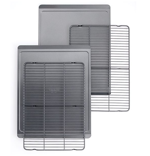 Cookie Sheets and Cooling Rack