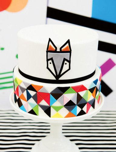 Modern Geometric Cake