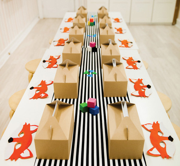 One Foxy Table