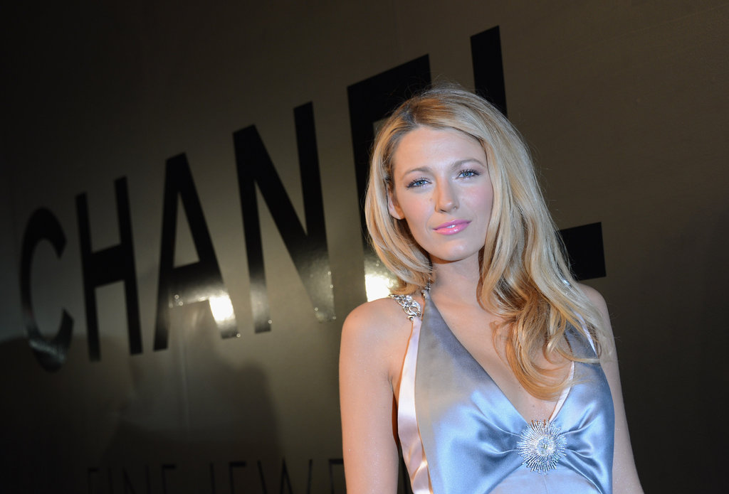 """Black Lively attended the Chanel celebration of the 80th Anniversary Of The """"Bijoux De Diamants"""" Collection."""