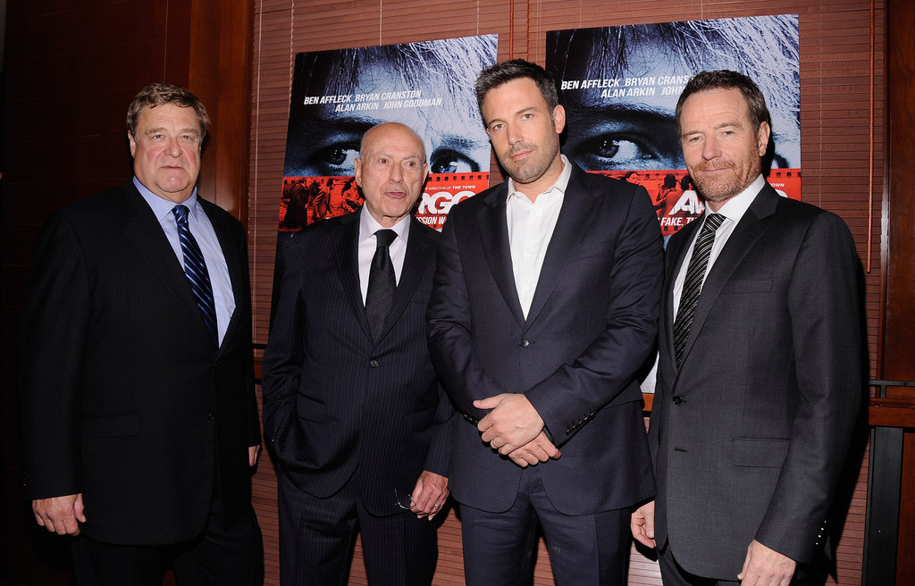 Ben Affleck stepped out in NYC to promote his new film Argo.