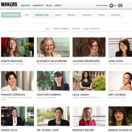 Makers Online Videos of Women