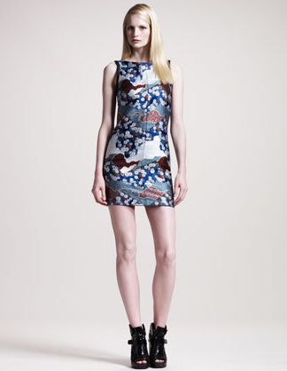 An investment piece for sure, this straight-from-the-runway Proenza Schouler Sleeveless Brocade Dress ($1,750) is the ultimate way to channel the Far East flair with cool-girl appeal.