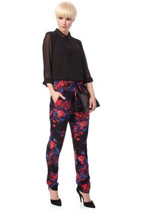 The punchy palette on these French Connection Shanghai Dream Tie Trousers ($138) makes them extra special and ideal for wearing with silky button-downs for an allover luxe look.
