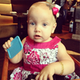 Tori Spelling celebrated Hattie's first birthday at a restaurant where the birthday girl wanted to pay — with a plastic credit card. Source: Instagram user torianddean