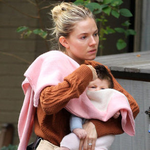Pictures of Sienna Miller's Baby Marlowe Sturridge in NYC