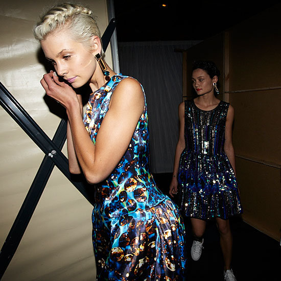Backstage Candid Shots from the ASOS In Your World Australian Exclusive Collection Runway Show in Sydney