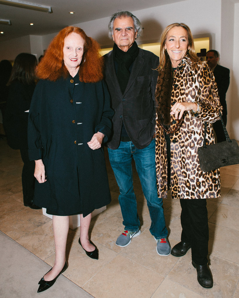 Grace Coddington, Patrick Demarchelier, and Carlyne Cerf de Dudzeele
