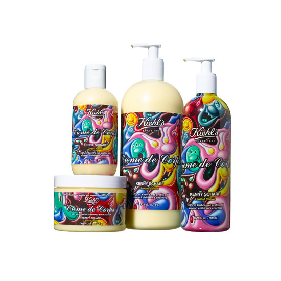 Kiehl's and Kenny Scharf Holiday Collection 2012