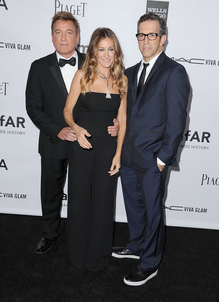 Sarah Jessica Parker attended the amfAR 3rd Annual Inspiration Gala in LA.