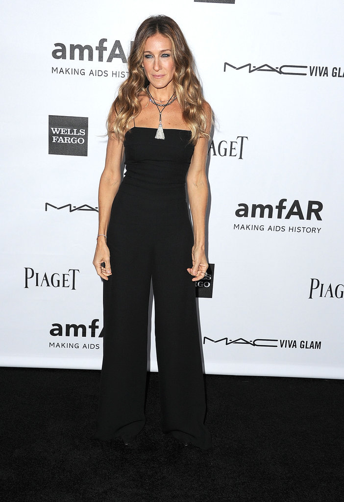 Sarah Jessica Parker posed for photos at the event in LA.