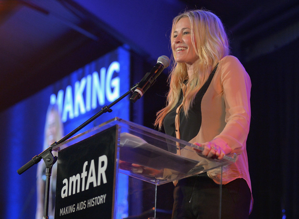 Chelsea Handler was on stage at the amfAR Inspiration Gala in LA.