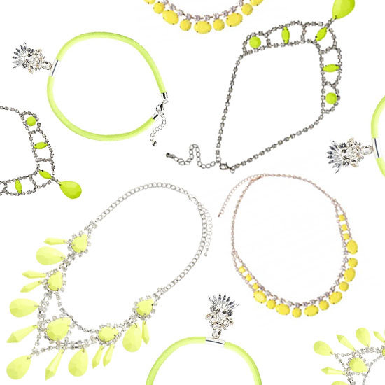Fab's Fast Five: Neon Necklaces Under $60!