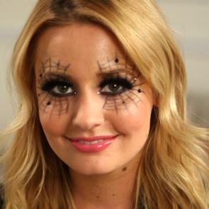 Halloween Spider Web Makeup Tutorial