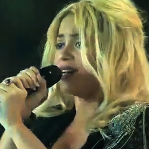 Pregnant Shakira Performing at Women's World Cup (Video)