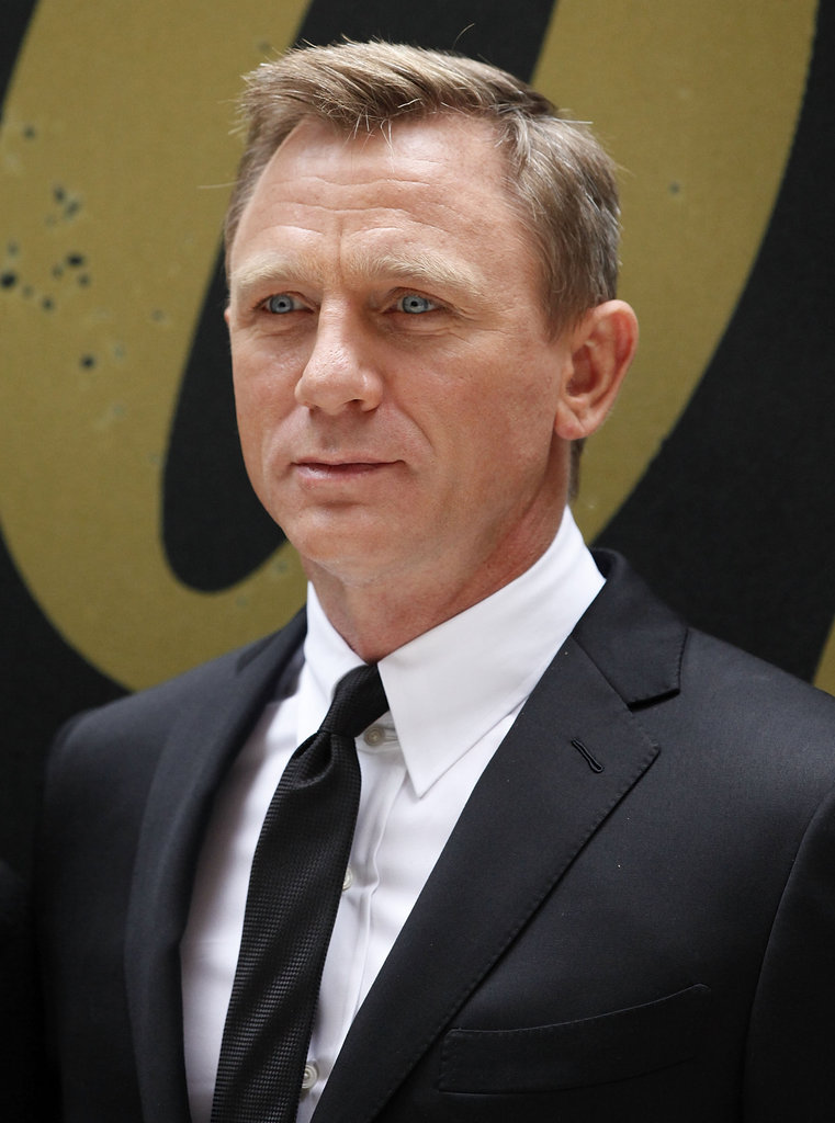 Daniel Craig promoted Skyfall in NYC.