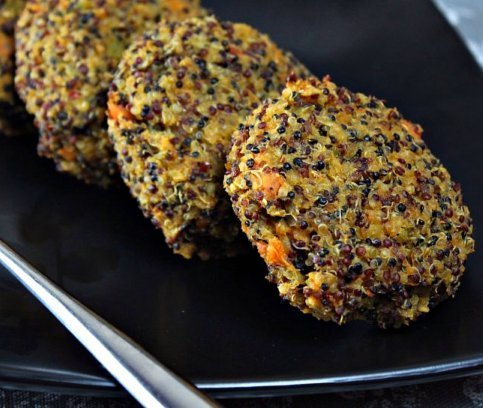 Quinoa Sweet Potato Cakes | 13 Hearty, Healthy Sweet Potato Recipes ...