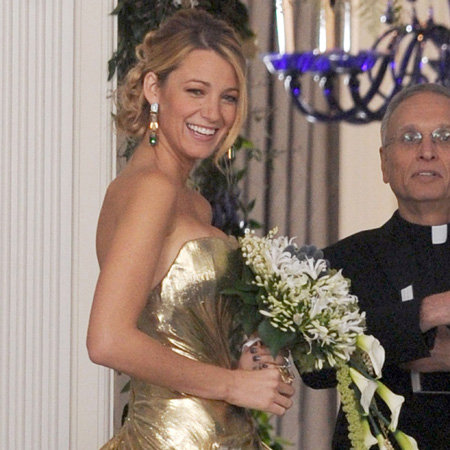 Blake Lively's Wedding Dress on Gossip Girl   Pictures