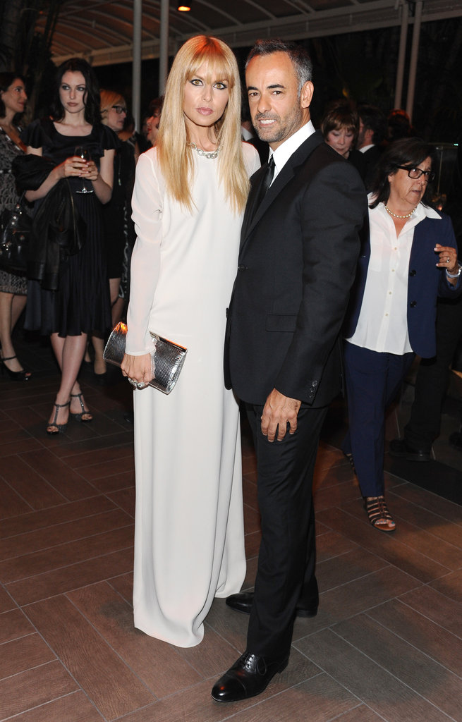 Rachel Zoe and Francisco Costa posed for photos at the Elle Women in Hollywood Awards in LA.