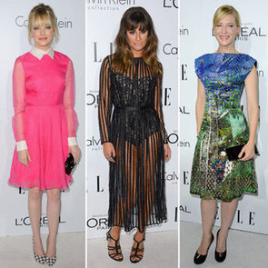 Pictures of Celebrities at the 2012 Elle Women in Hollywood Celebration: Cate Blanchet, Emma Stone, Lea Michele & more!