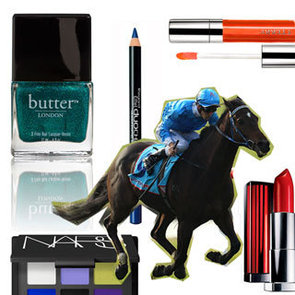 A Jewel Toned Colour Story of Lipstick and Makeup Inspired By Jockey Silks for the Spring Racing Season