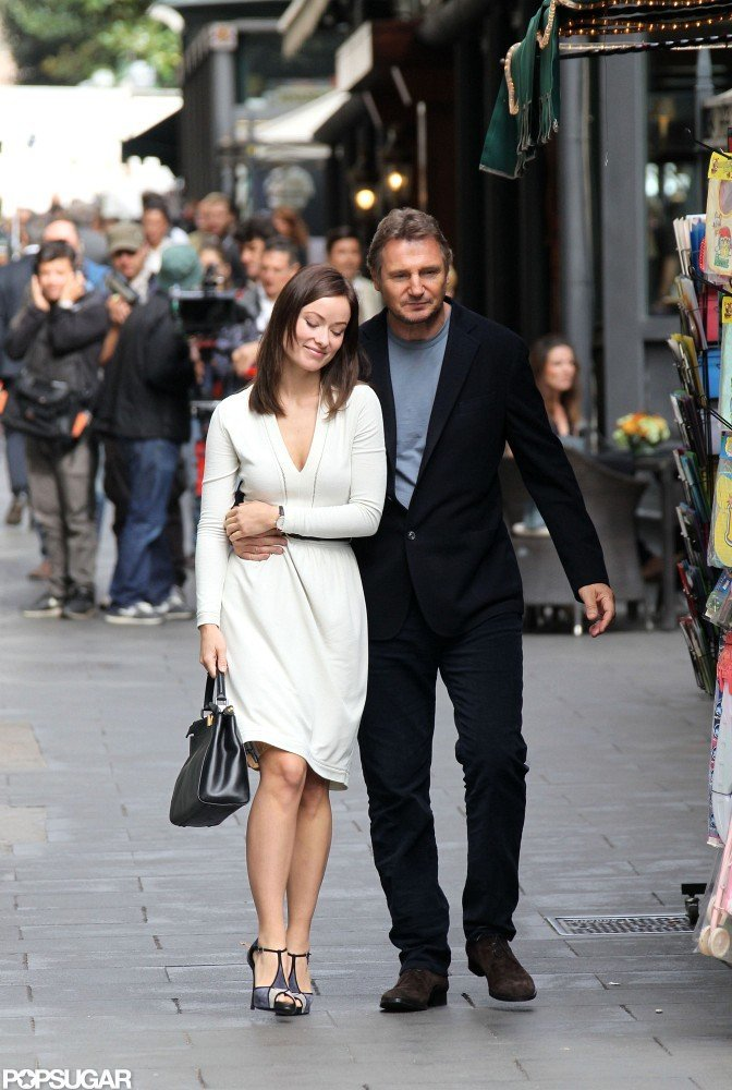 Liam Neeson and Olivia Wilde Filming in Rome | Pictures | POPSUGAR ...