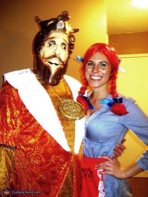 Burger King and Wendy