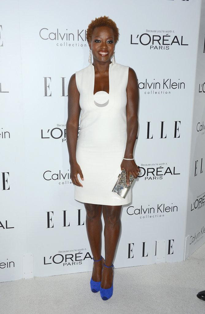 Viola Davis wowed in white.