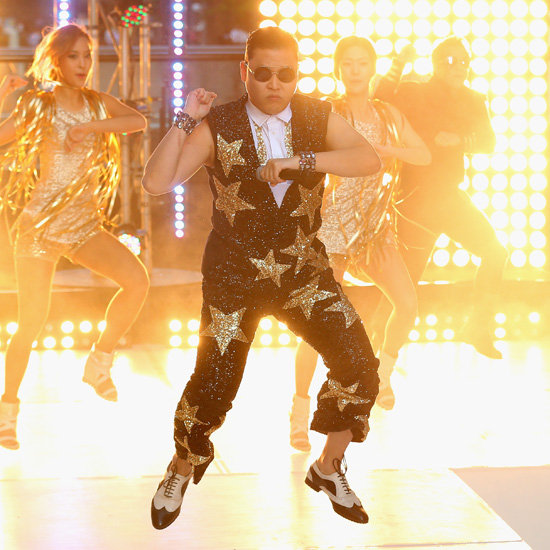 10 Best Pictures From Psy's Gangnam Style Performance on Sunrise Australia