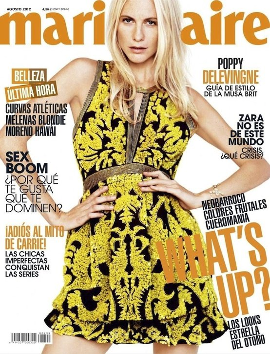 Marie Claire Spain, August 2012