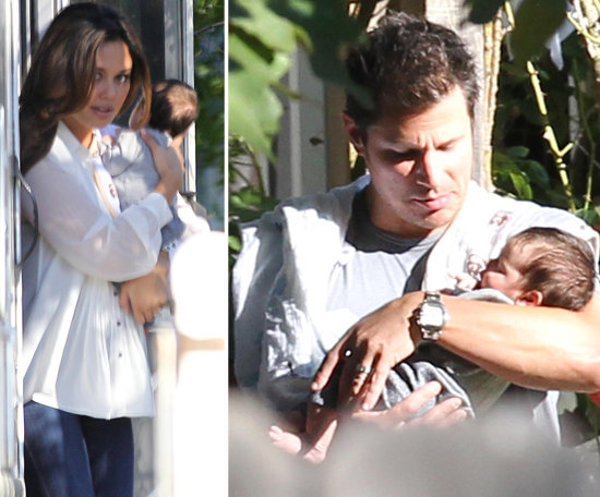 Nick and Vanessa Step Out With Baby Camden