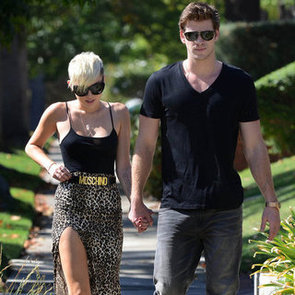 Miley Cyrus and Liam Hemsworth Hold Hands | Pictures