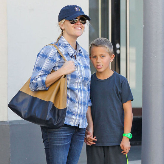 Reese Witherspoon at Deacon's Soccer Game in LA