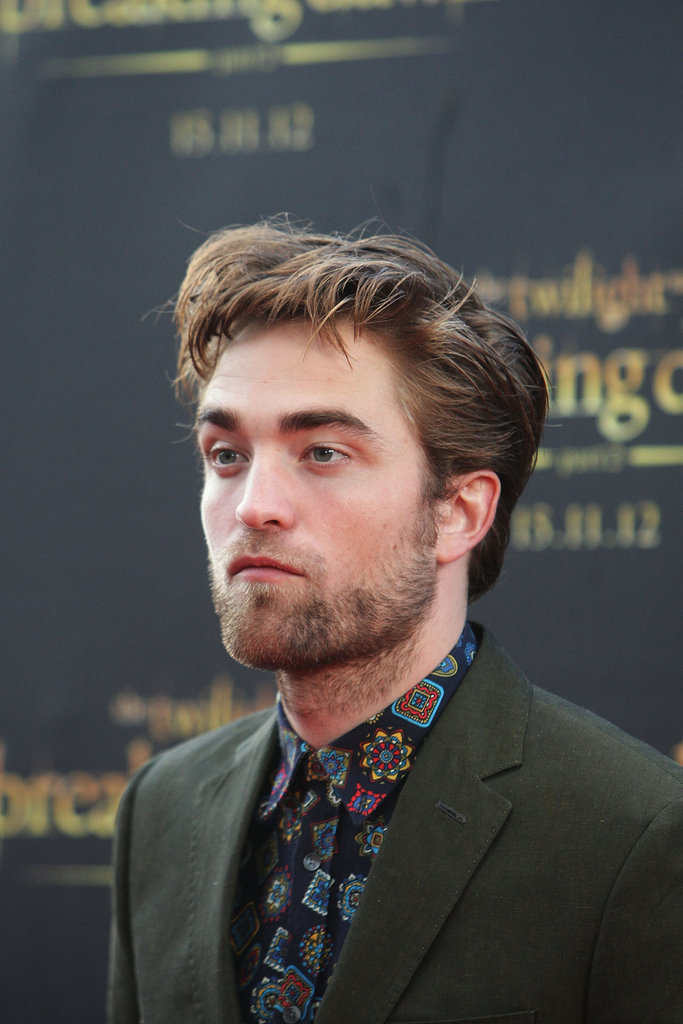 Robert Pattinson spent time in Sydney promoting Breaking Dawn - Part 2.
