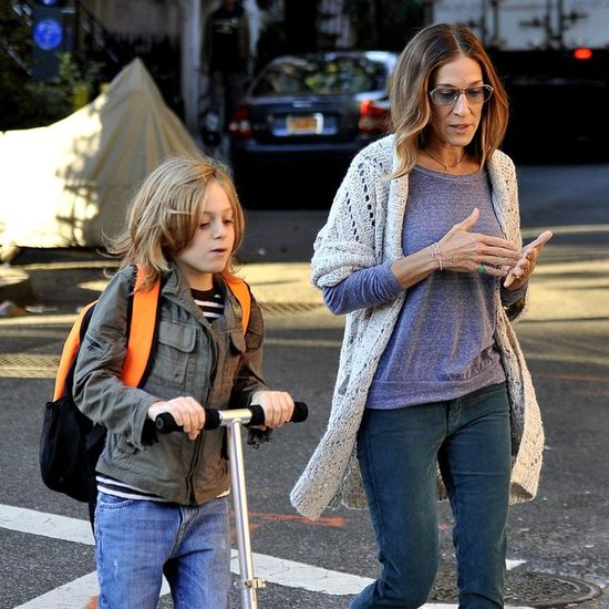 Sarah Jessica Parker and Kids Walking in NYC | Pictures