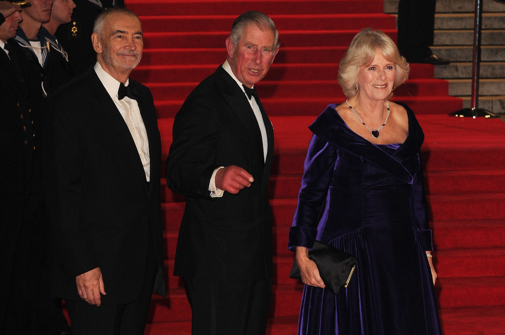 Daniel and Javier Premiere Bond in London With Royal Company