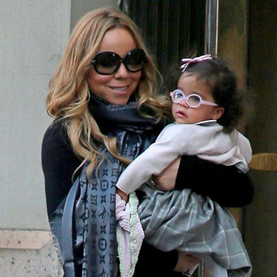 Mariah Carey Holding Daughter Monroe in NYC | Pictures