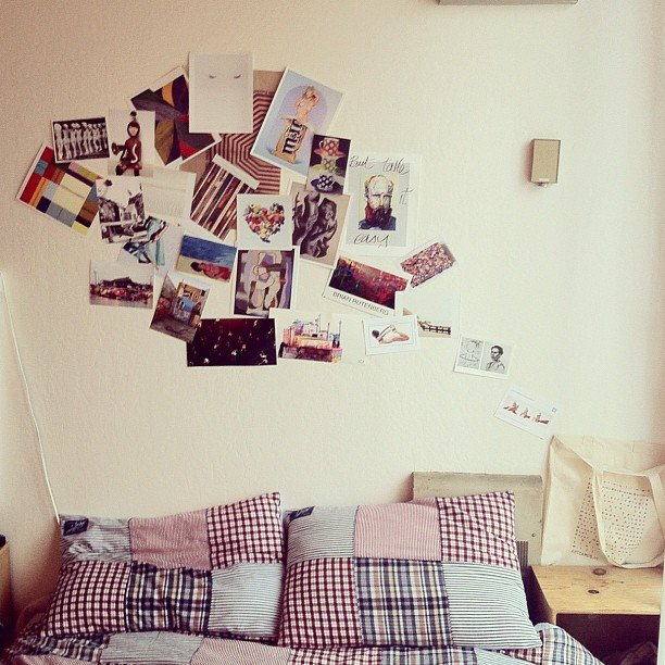 Wall pictures 12 inexpensive and creative ways to decorate your apartment popsugar smart living - Cheap ways to decorate an apartment ...