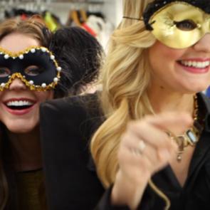 DIY Halloween Mask For Masquerade Ball