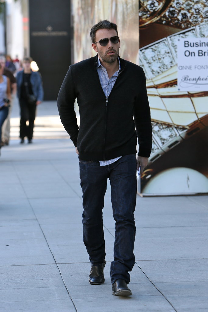 Ben Affleck was out and about in Beverly Hills.