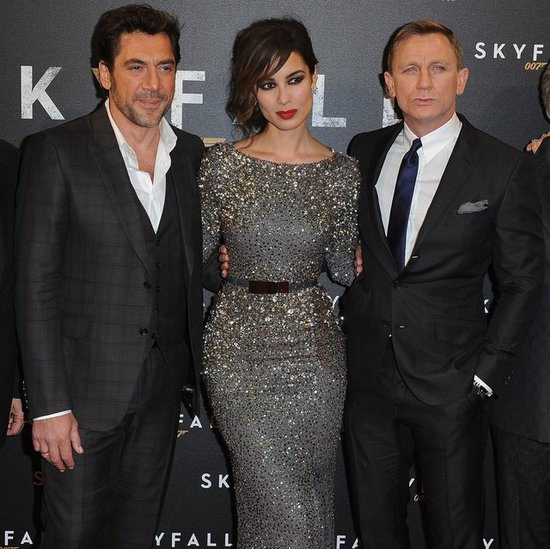 Skyfall Paris Premiere Celebrity Red Carpet Pictures