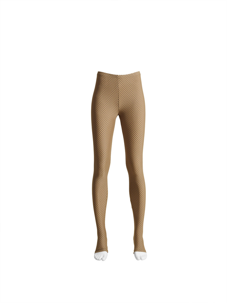 Trompe l'oeil fishnet leggings ($25)