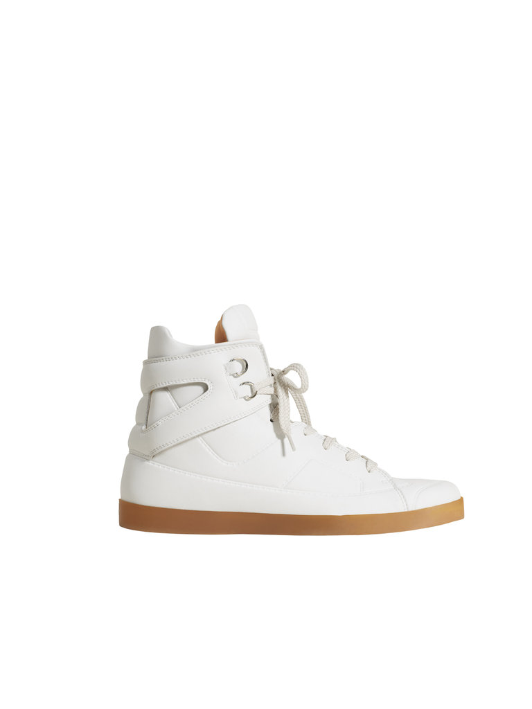 Trompe l'oeil high-top sneaker ($129)