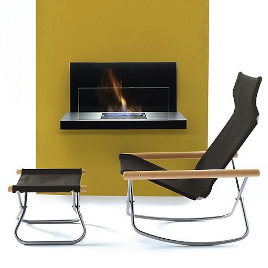 Modern Indoor and Outdoor Fireplaces